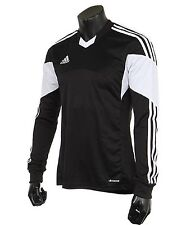 Adidas Youth Climacool Soccer Tiro 13 Jersey L/S Black Shirts Junior Team Z20257