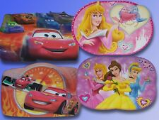 Disney Cars or Disney Princess Place mats, Underlay, Placemat Time base
