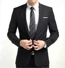 New Formal Mens Slim Fit Stylish Suit/Suits one-button suit set Jacket pants tie