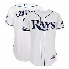 Evan Longoria MAJESTIC Tampa Bay Rays Authentic On-Field Home Cool Base Jersey