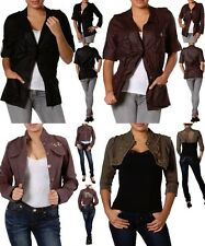 LOT NEW FASHION WOMEN Button Shirt JACKET CASUAL Cover Up CAREER Blazer S M L