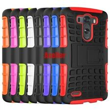 For LG Optimus G3 3D 2-Layer Shock Skip Proof Rugged Impact Hard Armor TPU Case