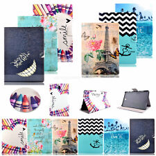 Fashion  -MM64 Pattern PU Leather Wallet Stand Case Cover For Samsung Galaxy Tab
