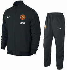 NIKE MANCHESTER UNITED SQUAD SIDELINE WOVEN WARM UP TRACKSUIT 2013/14