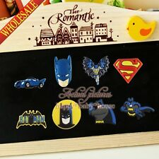 4PCS/SET Batman Spider Man PVC Fridge Refrigerator Magnets,School Supplies Gifts