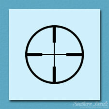 Crosshairs Target - Vinyl Decal Sticker - Multiple Color & Sizes - ebn184