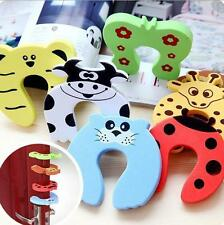 2pcs Baby Safety Stop Door Finger Pinch Guard Lock Jammer Door Stopper BUA