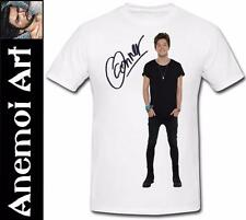 T575 Signed The Vamps Connor Ball autograph signature t shirt tee t-shirt Ticket
