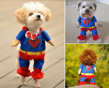 Pet Clothes Cute Superman Suit Fancy Pet Cat Dog Puppy Costume Apparel