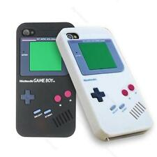 2 colors Gameboy Silicone back #S skin Case Cover for APPLE IPHONE 4 4S