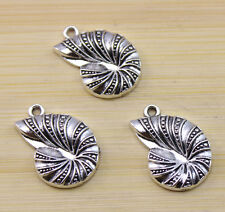 20/40/100 pcs Retro style Tibet silver Lovely snail charms Pendants 23x16 mm