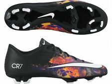 NIKE MERCURIAL VICTORY V CR FG FIRM GROUND SOCCER CR7 SHOE Black/Total Crimson/W
