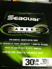 SEAGUAR KANZEN -- 30 lbs - 500 YDS ADVANCE MICROFIBERS SMOOTH CASTING SENSITIVE