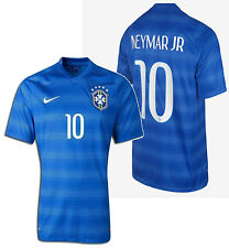 NIKE NEYMAR JR BRAZIL AWAY JERSEY FIFA WORLD CUP BRASIL 2014