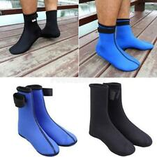 3mm Neoprene Anti-slip Snorkeling Diving Socks Boots Water Footwear Booties S-XL
