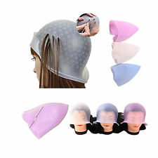 Reusable Hair Colouring Highlighting Dye Cap Hook Frosting Tipping Professional