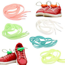 LED Shoelaces Light up Shoe Laces or Fluorescence Rave Party ,green HE