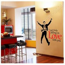 STICKER Alonline Designs Elvis Presley I cant help falling in love with you