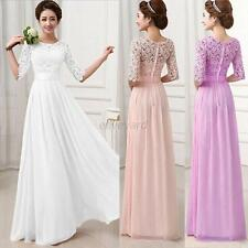 Women Prom Ball Evening Party Formal Gown Long Bridesmaid Cocktail Maxi Dress