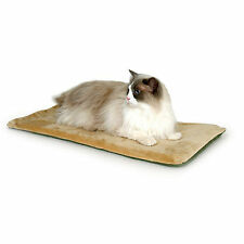 K & H Manufacturing KH Mfg Thermo-Kitty Mocha Heated Cat Bed
