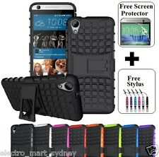 Heavy Duty Tough Kickstand Strong Case Cover For HTC Desire 626 628