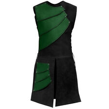 Quality Leather Archers Surcoat. Body Armour. For Stage Costume & LARP 4 Colours