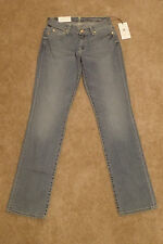 NWT 7 Seven For All Mankind Classic Straight Leg Light Blue Jeans size 27 x 32