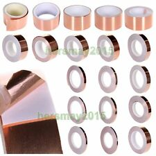 Various Size Guitar Shield Screening Copper Foil Tape Noise Conductive Adhesive