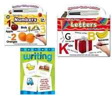 Wipe Clean Learning Activity Book Letters or Numbers or Writing with Pen