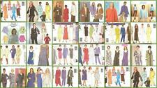 Butterick Sewing Pattern Misses Plus Sizes Range 16W to 32W You Pick