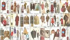 OOP Vogue Sewing Pattern Coats Jackets Outerwear You Pick