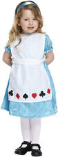 ALICE IN WONDERLAND GIRLS FANCY PARTY DRESS TODDLER COSTUME 2-4 YRS