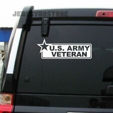 US Army Star Veteran Military Decal Bumper Sticker