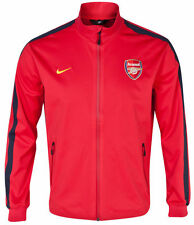 NIKE ARSENAL PLAYERS ISSUE AUTHENTIC N98 JACKET Red/Black.