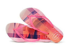 Havaianas Women`s Flip Flops Slim Paisage Sexy Crystal Rose Sandals Any Size NWT