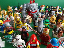 Lego Minifigures Series  / Super Heroes / Toy Story / Lego Club Plus More (Ref4)