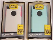 Otterbox Commuter Series Stylish Protection Case Iphone 6- White/Pink, Blue Teal
