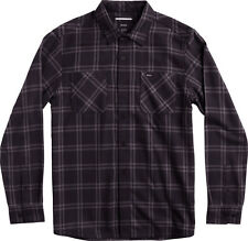RVCA PAYNE FLANNEL Mens Long Sleeve Button Front Shirt Size Medium NEW