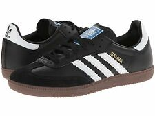 ADIDAS ® SAMBA BLACK WHITE GUM *AUTHENTIC *ORIGINAL & NEW IN BOX