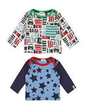 Lilly + Sid Baby Boy Long Sleeve Tops - 2 Pack