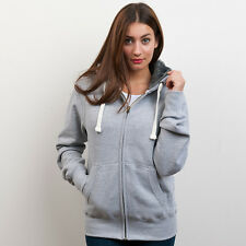 Just Hood by AWD Unisex Fur lined chunky Hoodie JH054