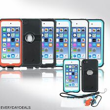 For Apple iPod Touch 6 6th Gen Waterproof Case Shockproof Hybrid Slim Hard Cover