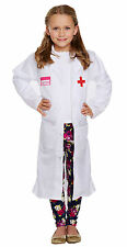 Child Boy Girl Doctors Lab Coat World Book Day Fancy Dress Costume Various Sizes