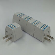 AS/AU/US/EU/AS Universal to UK/HK AC Power Plug Adapter Travel 3pin Converter