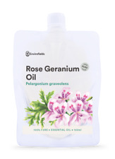 ROSE GERANIUM ESSENTIAL OIL - PURE -  8ML - AROMATHERAPY GRADE** FREE SHIPPING**