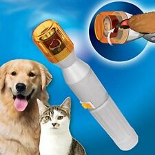 Pet Dog Cat Nail Grooming Care Grinder Trimmer Clipper Electric Nail File Kit