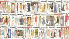 OOP Simplicity Sewing Pattern Spring Summer Dresses Misses Sizes You Pick