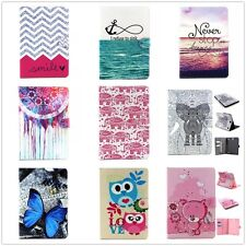 Smart Folio Wallet Leather Stand Case Cover For iPad 2/3/4 Mini Air Galaxy Tab A