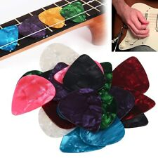 20pcs Multicolor 0.46-0.96mm Celluloid Acoustic Electric Guitar Picks Plectrum