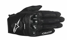ALPINESTARS Stella SMX-1 AIR Leather/Mesh Motorcycle Gloves (Black) Choose Size